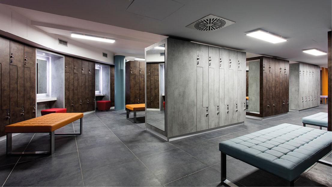 Armadietti Spogliatoio Per Palestra.Fit Interiors Arredamento Palestre Spa Piscine Hotel Ospedali