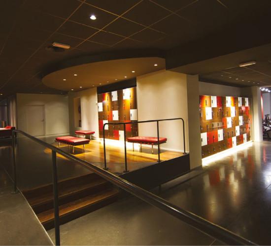 area lounge palestre