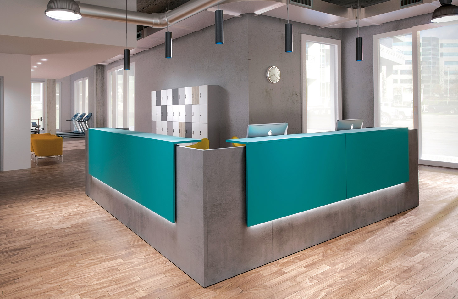 Reception and Bar Counters