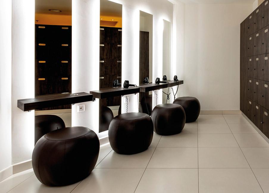 Arredamento per Palestre, Centri Benessere, SPA, Golf Clubs, Hotel, Uffici, Corporate, Scuole, Ospedali